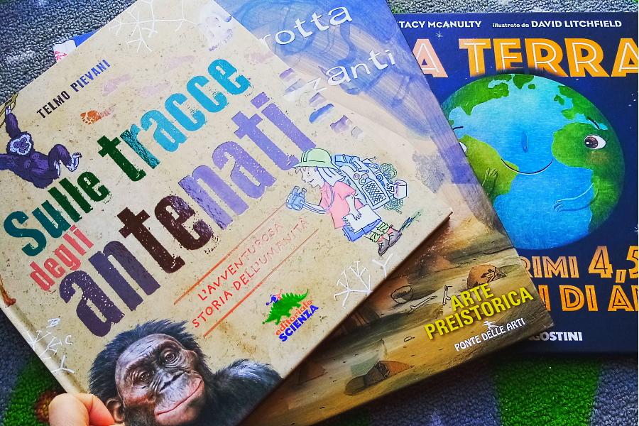 libri sulla preistoria per bambini