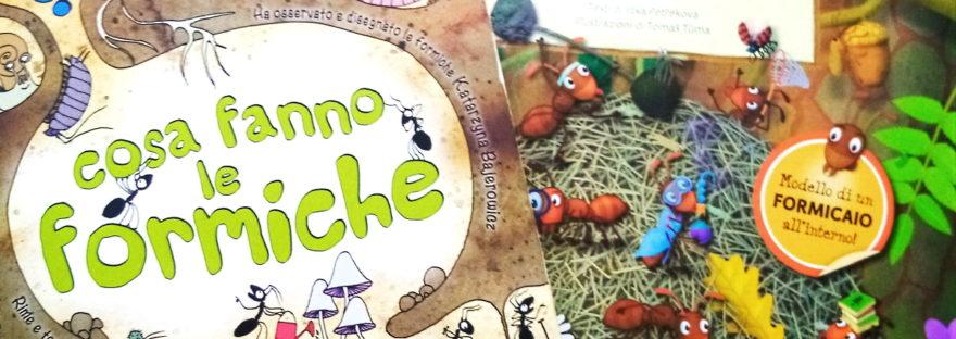 libri sulle formiche per bambini
