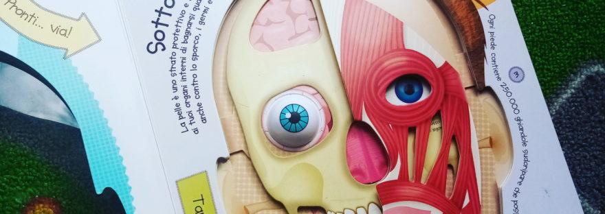 libri per bambini sul corpo umano
