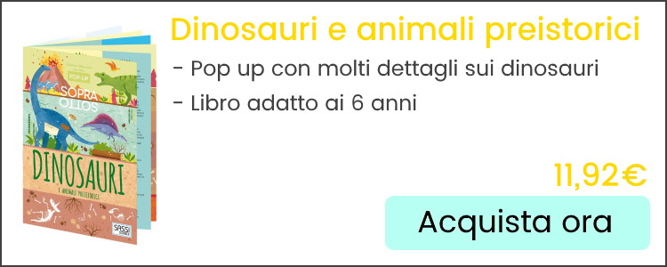 banner dinosauri e animali preistorici