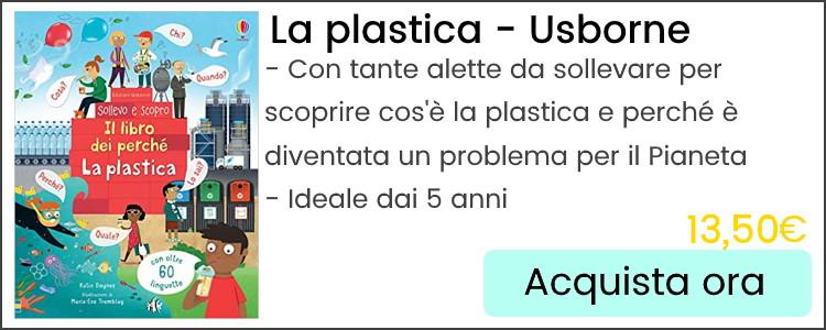 libri per bambini sulla plastica